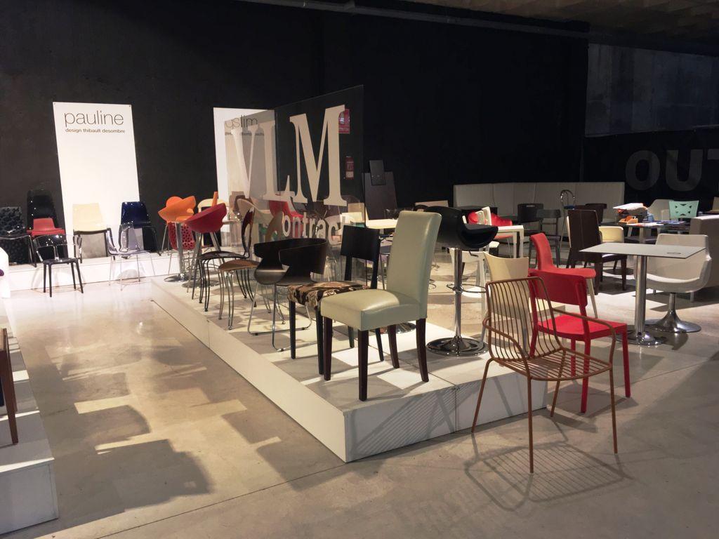 VLM Contract. Mobiliario, sillas, mesas, hostelería, restaurantes ...